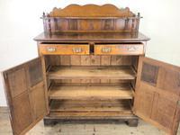 Antique Arts & Crafts Oak Sideboard Cupboard (3 of 11)