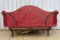 Antique French Sofa Chaise Longue (4 of 9)