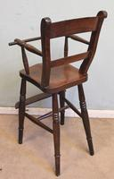 Antique Childs Windsor Highchair (4 of 12)