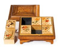 19th Century French Straw Work Box of Quite Outstanding Complexity (4 of 5)