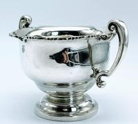 Antique West & Sons Irish Dublin Solid Silver Sugar Bowl c.1886 (6 of 6)