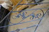 Unused Space Saver Iron Spiral Staircase with Hand Rails (7 of 12)