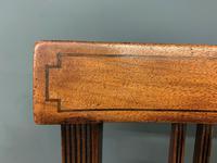Set of 8 Georgian Mahogany Dining Chairs (10 of 16)