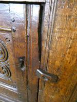 19th Century Carved Oak Cupboard / Dresser (7 of 16)