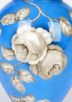 Rosenthal German Porcelain Lidded Jar & Cover with En Grisaille Roses Decoration c.1935 (14 of 15)