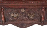 Fantastic 19th Century Antique Carved Oak Dresser (12 of 14)