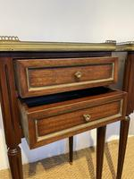 Pair of Mahogany 2 Drawer Bedside Cabinets (4 of 5)
