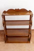 Set of Mahogany Book or Display Shelves (2 of 4)