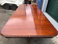 Quality Mahogany Extending Dining Table (3 of 15)