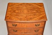 Burr Walnut Chest on Chest of Drawers c.1930 (4 of 9)