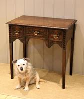 Early 19th Century Carved Oak Lowboy (7 of 11)