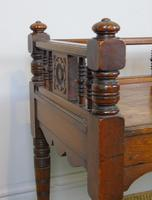 Good Aesthetic Mahogany Window Seat by Henry Pitts of Leeds (5 of 12)