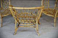 Single Bamboo Cane Tub Chair. (11 of 12)