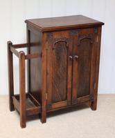 Edwardian Oak Hall Cabinet (10 of 10)