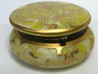 Beautiful Art Nouveau Loetz Jugendstil Art Glass Trinket Box (2 of 12)