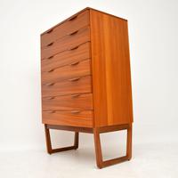 1960's Vintage Teak Chest of Drawers (2 of 10)