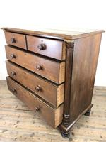 Large Antique Oak Chest of Drawers (10 of 12)
