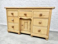 Antique Golden Pine Dresser Base (2 of 6)