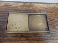 Solid oak school desk (6 of 7)