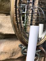 Pair of English Gilt Bronze Mirrored Wall Lights (5 of 8)
