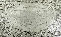 Antique Victorian Sterling Silver Snuff Box 1852 (3 of 11)