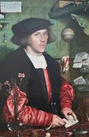 Very Fine Quality Large Old Master Portrait 'medici Society' Print - Circa 1910 (4 of 12)