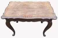 Good Quality Early 20th Century Solid Oak Side Table (6 of 6)