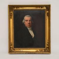 Antique Giltwood Framed Oil Painting Portrait (12 of 12)