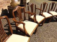 Set of 8 Hepplewhite Style Mahogany Dining Chairs (12 of 12)
