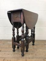 Small 18th Century Gateleg Table (7 of 9)