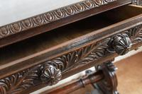 Hardwood Stretcher Table from the Late Regency Period (2 of 11)