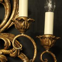 Florentine Silver Giltwood Antique Wall Lights (4 of 10)