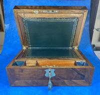 Victorian  Walnut Writing Slope with Secret Drawers (10 of 17)
