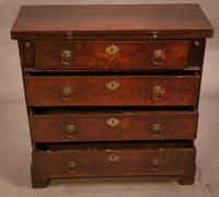 Rare Small 18th Century Batchelors Chest in Oak (2 of 13)