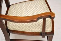 Antique Edwardian Mahogany Armchair (2 of 10)