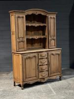 French Bleached Oak Farmhouse Kitchen Dresser (26 of 26)