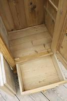 Gorgeous Old Stripped Pine Cupboard / Cabinet / Wardrobe - Hall / Linen / Larder (10 of 11)
