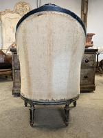 French Louis XVI Style High Back Chair (5 of 5)
