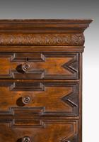 Rare William and Mary Period Solid Walnut Chest on Stand (5 of 6)
