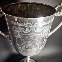 Victorian Silver Twin Handled Trophy (2 of 6)