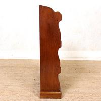 Oak Open Bookcase Waterfall Solid Carved (7 of 8)