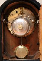 Small Victorian Burr Walnut Mantel Clock (7 of 10)