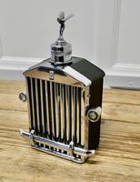 Rolls Royce Radiator Musical Decanter Sprit of Ecstasy Mascot