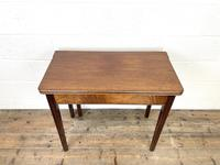 Antique Mahogany Fold Over Table (3 of 10)