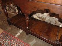 Georgian Oak Sussex Dresser with Rack (6 of 11)