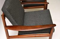 1960's Pair of Danish Rosewood Armchairs by Grete Jalk (3 of 12)