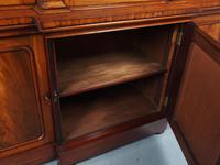 Antique George IV Mahogany Breakfront Library Bookcase (13 of 14)