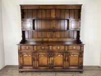 Large 20th Century Georgian Style Oak Dresser (13 of 23)