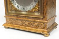 Perfect Vintage Mantel Clock Bracket Clock by Elliott of London Retailed by G H Pressley & Sons (7 of 8)