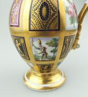 Extraordinary & Very Fine Old Paris Porcelain Gilt Jug Early 19th Century (7 of 12)